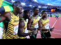 Usain Bolt, Nickel Ashmeade, Kemar Bailey-Cole, Jason Livermore
