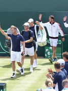 Leon Smith, Jamie Murray, Andy Murray, James Ward, Dominic Inglot